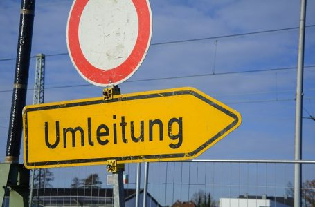 Autobahnbrücke im Bereich Ortseingang Blintendorf gesperrt