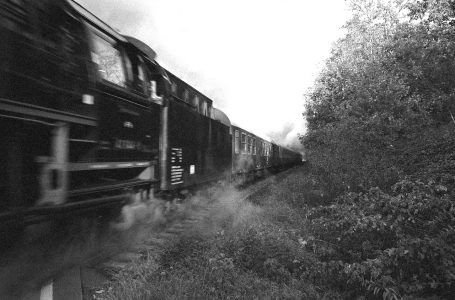 Eine Bahnfahrt von Triptis nach Lobenstein im Jahr 1983