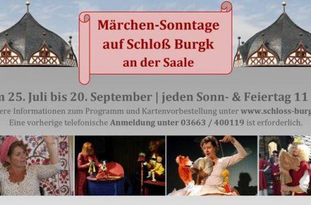 Abschluss der Märchen-Sonntage auf Schloß Burgk
