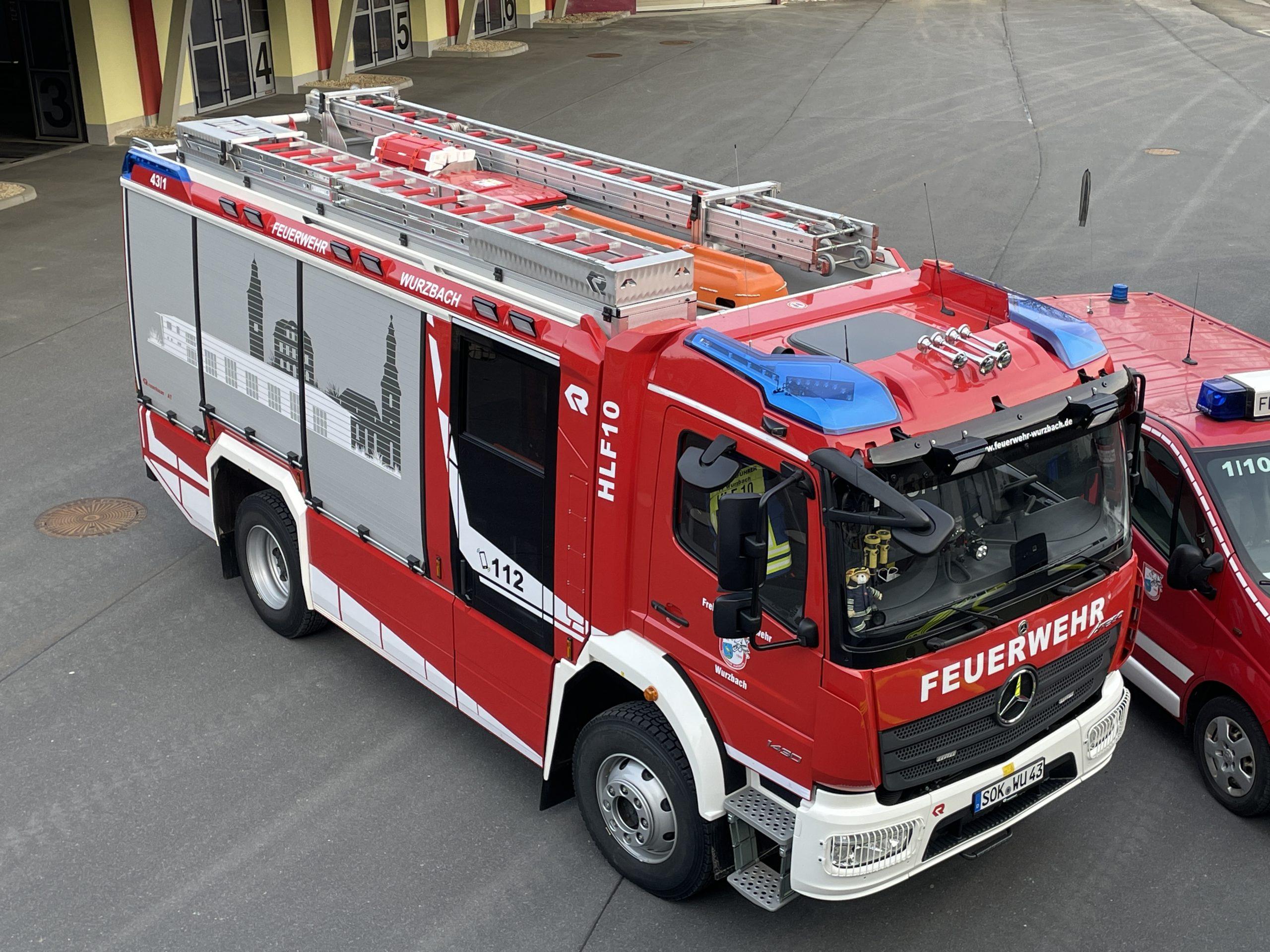 Tag der offenen Tür bei der Feuerwehr in Wurzbach