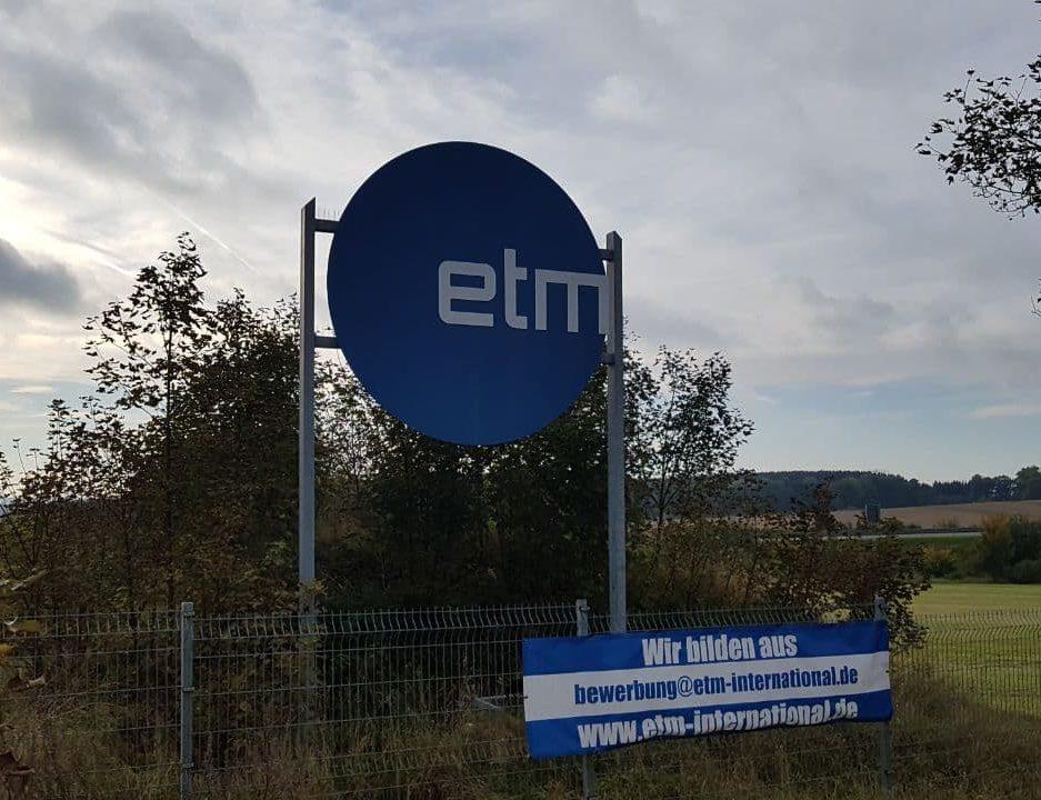 ETM in Schönbrunn: Amtsgericht Gera eröffnet Insolvenzverfahren